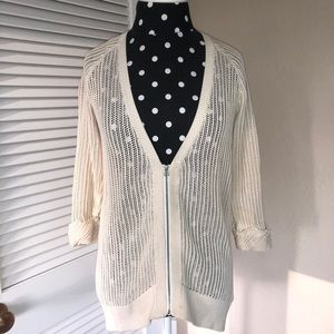 Urban Outfitters Silence & Noise Zip Up cardigan